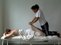 massage demonstration